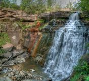 Scenic waterfall Royalty Free Stock Images