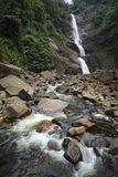 Scenic waterfall and river Stock Image
