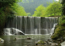 A scenic waterfall stream Royalty Free Stock Photo