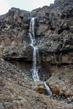 Scenic waterfall in Tongariro National Park near Whakapapa village Stock Photography