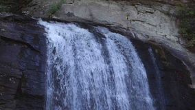 A scenic waterfall in virginia stock footage