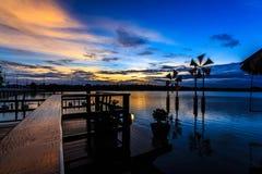 Scenic waterfront Stock Photos