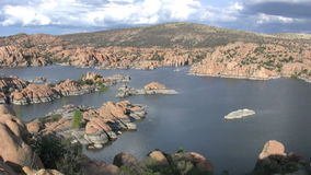 Scenic Watson Lake Royalty Free Stock Image
