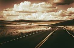 Scenic Winding Road Stock Photo