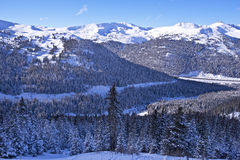 Scenic Winter Colorado Royalty Free Stock Photos