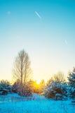 Scenic winter landscape Royalty Free Stock Image
