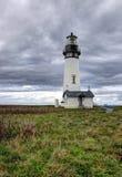 Scenic Yaquina lighthouse. Stock Image