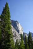 Scenic Yosemite Landscape Royalty Free Stock Photos