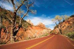 Scenic Zion Road Stock Image