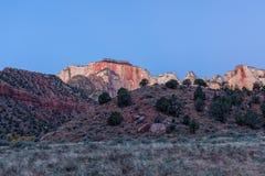 Scenic Zion Sunrise Royalty Free Stock Photography