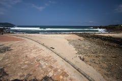 Scenico della linea costiera Fotografia Stock Libera da Diritti