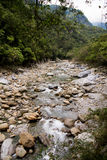 Scenico della traccia di Shakadang nel parco nazionale di Taroko, Taiwan il 30 aprile 2017 immagine stock