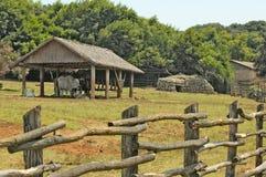 Scenico rurale Fotografia Stock