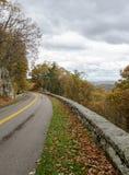 Scenico trascuri, Ridge Parkway blu, la Virginia Immagine Stock