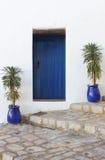 Scenico urbano della città di Ibiza Fotografia Stock