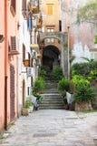 Scenico urbano di Gaeta fotografia stock