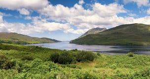 Scenics в Connemara западной Ирландии Стоковое Изображение