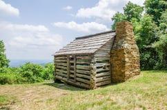 Scenics Along Blue Ridge Parkway In West Virginia Stock Images
