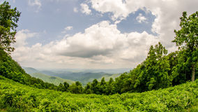 Scenics along blue ridge parkway in west virginia Royalty Free Stock Photo
