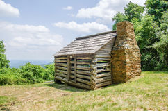 Scenics along blue ridge parkway in west virginia Stock Images