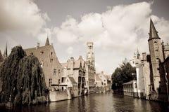 Scenics Bruges, Belgien Royaltyfria Bilder