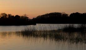 Scenics del lago - lago Killarney Leane del Lough Fotografie Stock