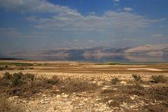 Scenics del mar muerto Imagen de archivo libre de regalías