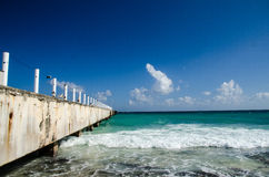 Scenics from the mexican caribbean Royalty Free Stock Image