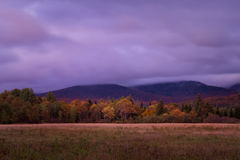 Sceniczna Adirondack Loj droga Obrazy Royalty Free