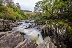 Sceniczna Braklynn siklawa w Szkocja Obraz Royalty Free