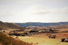 Sceniczna dolina blisko Emmett, Idaho Zdjęcie Royalty Free