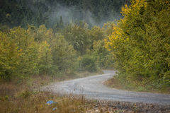 Sceniczna droga w górach Obrazy Stock