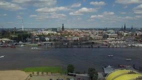 Sceniczna panorama nad Hamburskim schronieniem zbiory