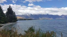 Sceniczna sceneria Queenstown, Nowa Zelandia obrazy royalty free