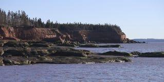 Sceniczna, skalista linia brzegowa, krajobraz Obrazy Stock