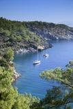 Sceniczna zatoka blisko Marmaris, Turcja Zdjęcia Royalty Free
