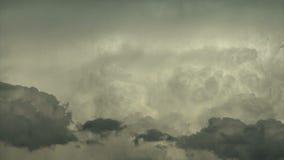 Sceniczne burz chmury zbiory wideo
