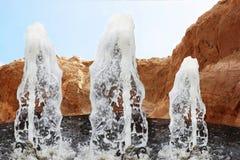 Sceniczne fontanny Zdjęcia Stock