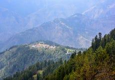 Sceniczne góry w Naran Kaghan dolinie, Pakistan Fotografia Royalty Free