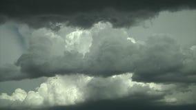 Sceniczne kłębi się chmury zbiory