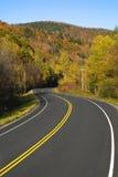 sceniczny autostrady cewienie Obrazy Royalty Free