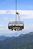 Sceniczny chairlift   Fotografia Royalty Free