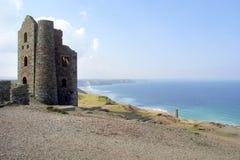 Sceniczny Cornwall - St Agnes głowa Obraz Royalty Free