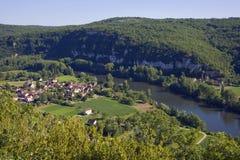 Sceniczny Francja, udział dolina fotografia stock