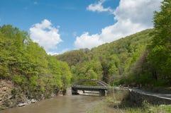 sceniczny jaru bridżowy krajobraz Zdjęcie Stock