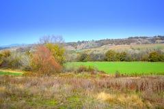 Sceniczny jesień wieśniaka widok Obraz Stock