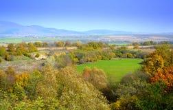 Sceniczny jesień wieśniaka widok Obrazy Stock