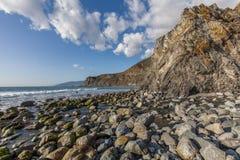 Sceniczny Kalifornia wybrzeża krajobraz Zdjęcia Royalty Free