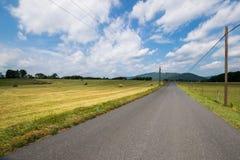 Sceniczny krajobraz Elkton, Virginia wokoło Shenandoah obywatela Fotografia Royalty Free