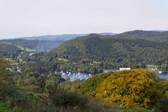 Sceniczny Lakeland - Jeziorny Windermere Zdjęcie Stock